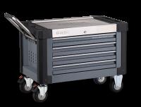 Aufsatzbox S9 gefüllt, 206-tlg., mit Rollensatz, dunkelgrau